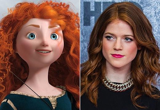 Merida trong bộ phim hoạt hình Brave. Đó là chưa kể, nhờ vai diễn trong Game of Thrones, nữ diễn viên xinh đẹp đã trở thành cao thủ bắn cung.
