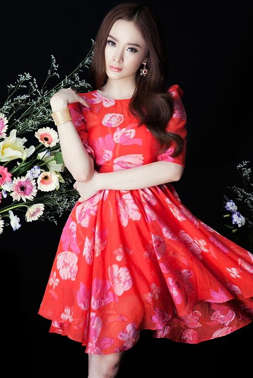 Angela Phương Trinh gợi cảm trong bộ ảnh mới