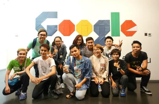 DAMtv tham quan tổng hành dinh Google tại Singapore