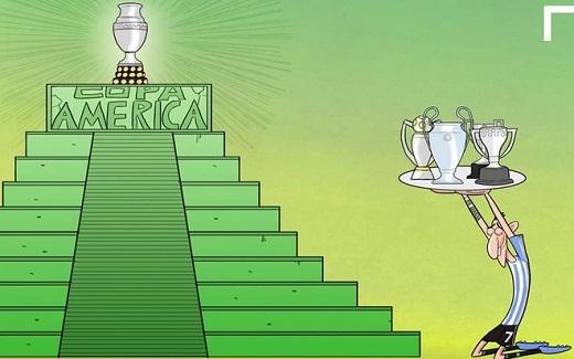 Di Maria vừa tuyên bố sẵn sàng đổi những danh hiệu từng giành được để lấy Copa America 2015. Tiền vệ này đã có chức vô địch Liga, Champions League và Cup Nhà vua trong màu áo Real Madrid.