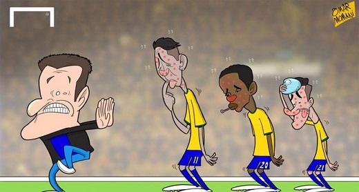 HLV Carlos Dunga đổ lỗi cho virus và những cơn sốt bất thường của các học trò sau thất bại ở tứ kết Copa America 2015.