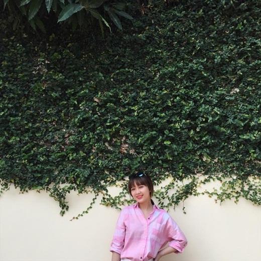 Kết hợp với giọng ca giàu cảm xúc, cô nàng sẽ là một đối thủ đáng gờm trong Giọng hát Việt 2015.