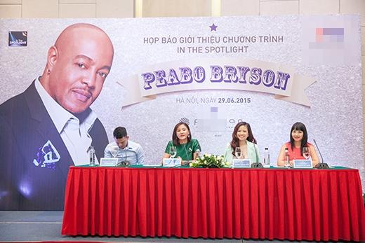 Văn Mai Hương hồi hộp khi được gặp huyền thoại âm nhạc Peabo Bryson - Tin sao Viet - Tin tuc sao Viet - Scandal sao Viet - Tin tuc cua Sao - Tin cua Sao