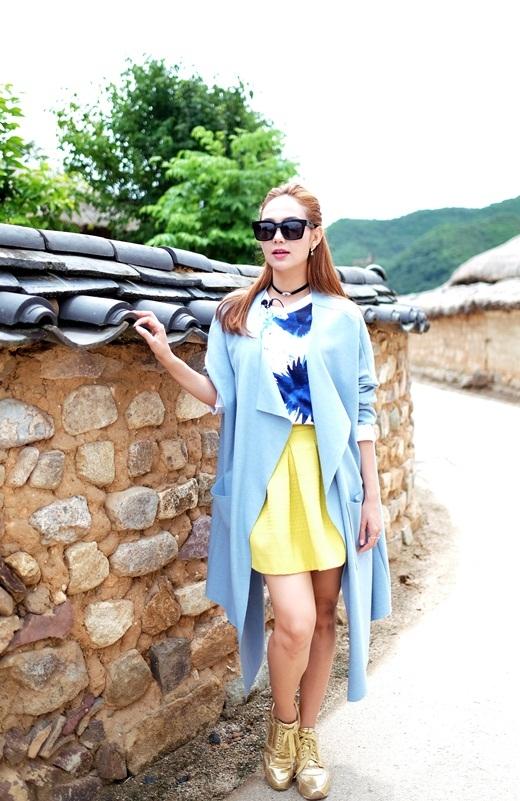 Mê mẩn vẻ nữ tính của Minh Hằng khi mặc Hanbok truyền thống - Tin sao Viet - Tin tuc sao Viet - Scandal sao Viet - Tin tuc cua Sao - Tin cua Sao