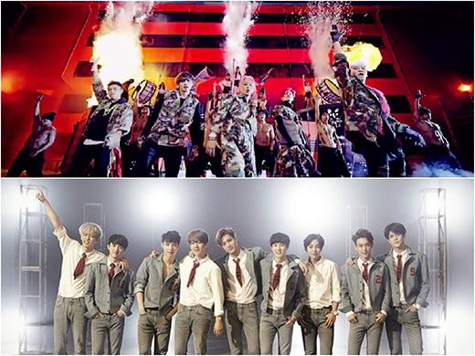 Mới đây nhất, cộng đồng fan Kpop cũng như fan Big Bang vô cùng hoảng hốt trước một anti-fan (được cho là fan của EXO) dọa sẽ đánh bom concert của nhóm vào tháng 7 tới tại Philippines. Chưa ngừng ở đó, còn có fan EXO đã đốt ảnh Taeyang và nguyền rủa các chàng trai chết đi.