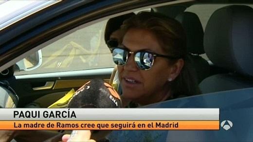 Mẹ Sergio Ramos không cho con trai tới Anh