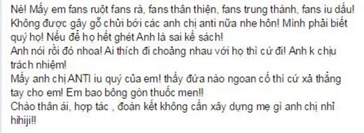 Đàm Vĩnh Hưng hạnh phúc khi viết tâm thư cho anti-fan - Tin sao Viet - Tin tuc sao Viet - Scandal sao Viet - Tin tuc cua Sao - Tin cua Sao