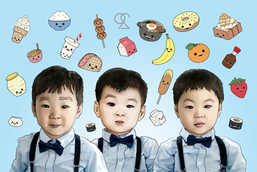 Sau khi tham gia chương trình, ba cậu nhóc nhận được rất nhiều hợp đồng quảng cáo và độ nổi tiếng cũng ngày càng tăng theo nhé.