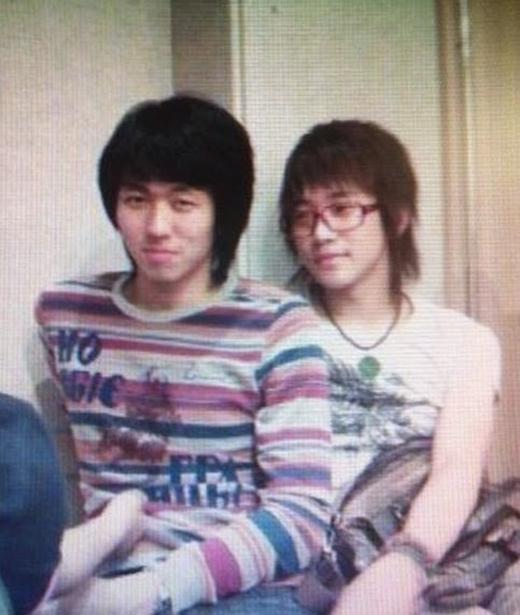 Seulong và Junho vào năm 2006.