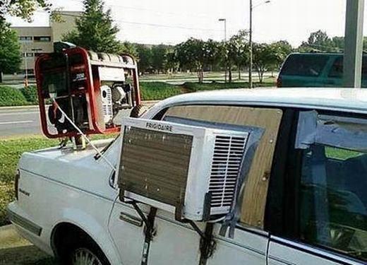 Máy lạnh của ô tô là chưa đủ!