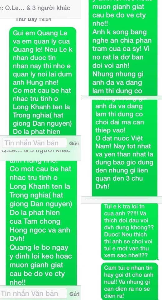 Đàm Vĩnh Hưng đáp trả quyết liệt trước lời đe dọa của Quang Lê - Tin sao Viet - Tin tuc sao Viet - Scandal sao Viet - Tin tuc cua Sao - Tin cua Sao