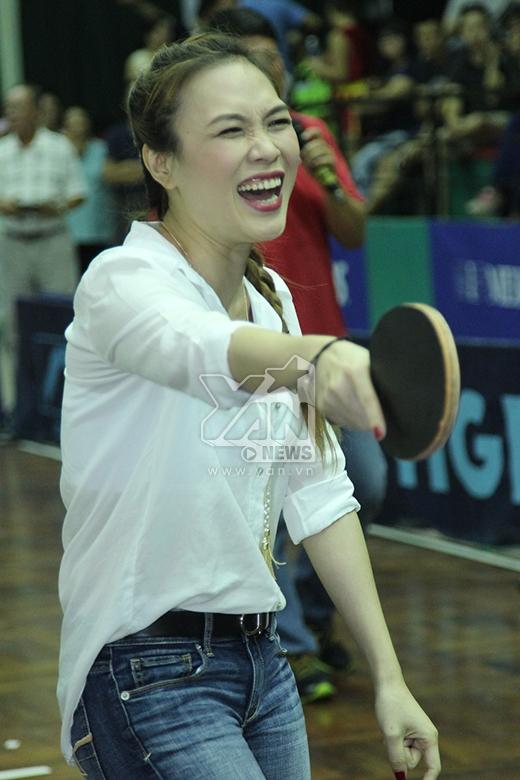 Nụ cười sung sướng và hạnh phúc của Mỹ Tâm khi chiến thắng đối thủ - Tin sao Viet - Tin tuc sao Viet - Scandal sao Viet - Tin tuc cua Sao - Tin cua Sao