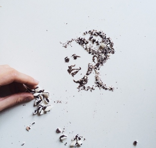 Bất ngờ với những bức tranh vẽ bằng cà phê siêu đẹp