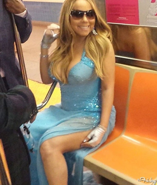 """Mariah Carey đã từng quyết định """"từ bỏ"""" những chiếc siêu xe của mình để ủng hộ hệ thống tàu điện ngầm New York."""