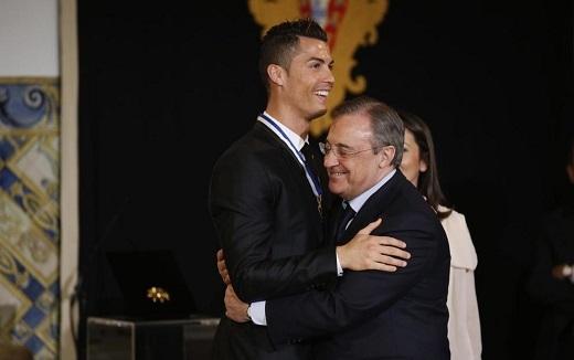 Sốc: Perez đang họp bàn việc bán Ronaldo cho các ông chủ Qatar