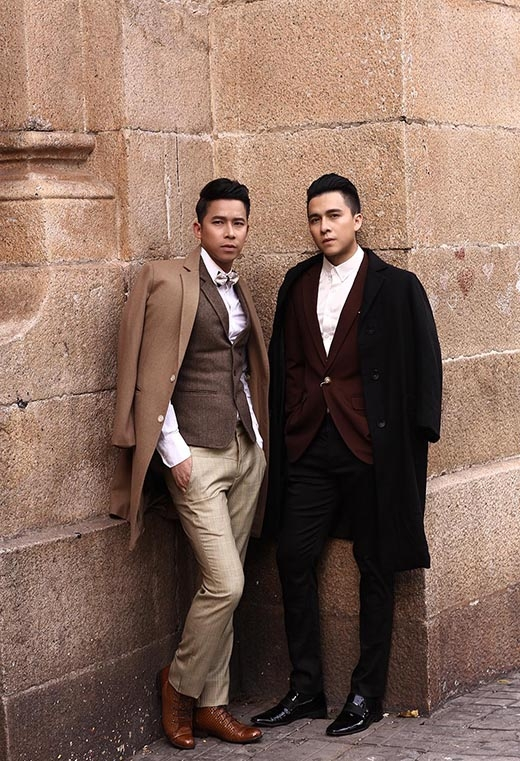 Lê Hoàng và Tiến Dũng lịch lãm, nam tính trong bộ ảnh mới - Tin sao Viet - Tin tuc sao Viet - Scandal sao Viet - Tin tuc cua Sao - Tin cua Sao