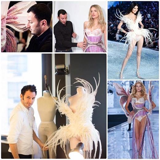 Những bộ ánh thiên thần độc đáo Serkan Cura thực hiện cho Victoria's Secret.