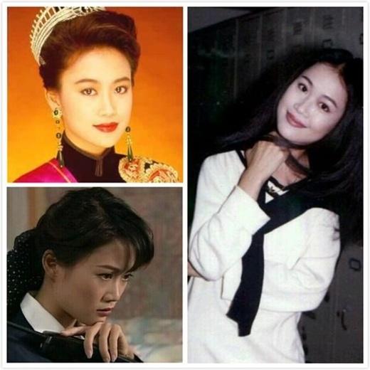 Lương Tiểu Băng: Nói về nhan sắc, không thể bỏ qua Lương Tiểu Băng. Cô từng đăng quang Á hậu và là mỹ nhân đài ATV, TVB.