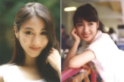 Lê Tư để lại dấu ấn ngọt ngào nhờ vẻ tươi tắn, má lúm đồng tiền. Cô là biểu tượng nhan sắc hàng chục năm qua của TVB.