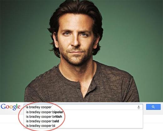 Bradley Cooper có phải là người lưỡng tính?
