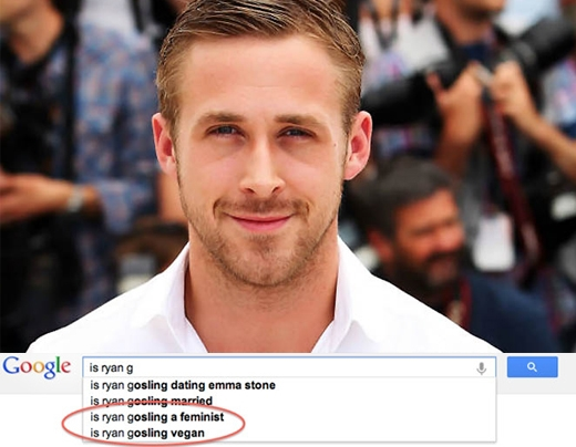 Ryan Gosling có phải là người ăn chay?