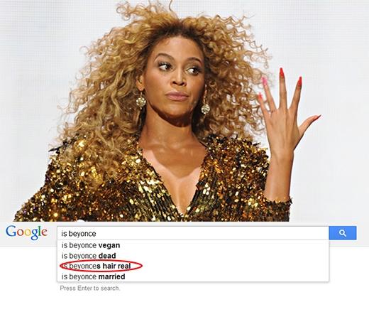 Liệu tóc của Beyonce có phải là tóc thật không nhỉ?