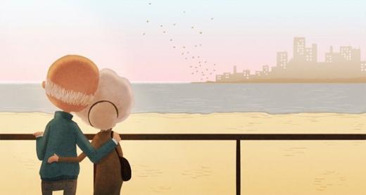 Anh hi vọng cho đến khi già, anh và em sẽ cùng nhau ngồi ôn lại những kỉ niệm hạnh phúc thời tuổi trẻ.