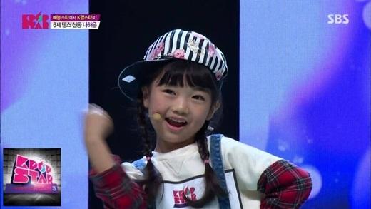 Vừa hát vừa nhảy trong chương trình K-Pop Star 2014, Ha Eun đã khiến giảm khảo vô cùng bất ngờ.
