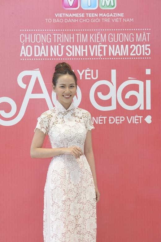 Lan Vy- Nữ sinh Khả ái Miss Áo dài Nữ sinh Việt Nam 2012
