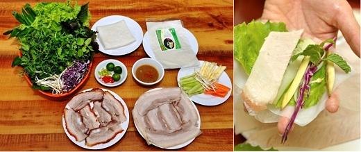 """Bộ sưu tập món cuốn bánh tráng """"nức lòng"""" người Sài Gòn"""