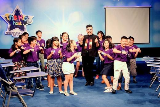 Lớp học đầy tiếng cười của MC Thanh Bạch và các bé. - Tin sao Viet - Tin tuc sao Viet - Scandal sao Viet - Tin tuc cua Sao - Tin cua Sao