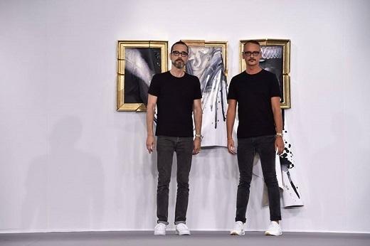 Hai nhà thiết kế tài năng của thương hiệu Viktor & Rolf:Viktor Horsting và Rolf Snoeren.