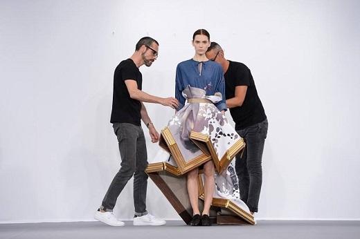 Những mẫu thiết kế 3D được tạo thành từ khung tranh gỗ vô cùng độc đáo.