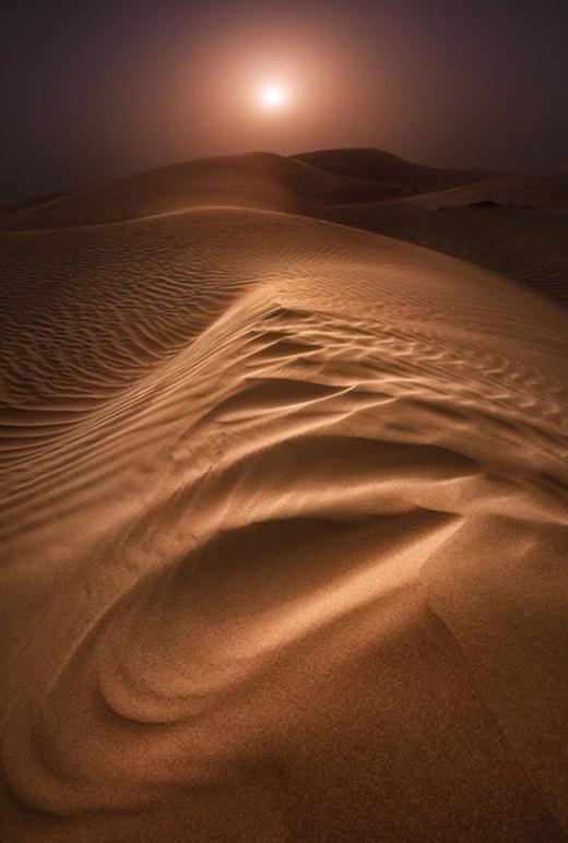 Sa mạc với đồi cát đẹp mê hồn