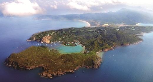 Toàn cảnh Côn Đảo đẹp tuyệt vời.
