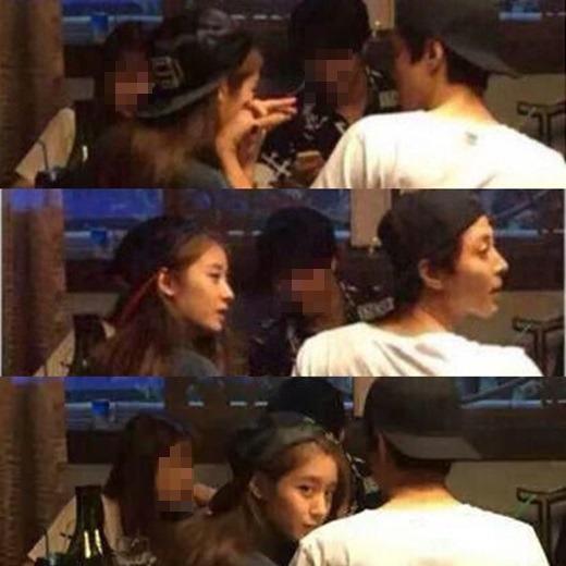 Những hình ảnh hẹn hò tình cảm của Lee Dong Gun và Jiyeon.