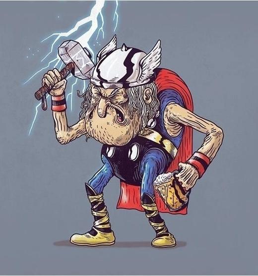 Không gì là không thể đối với thần sấm Thor.