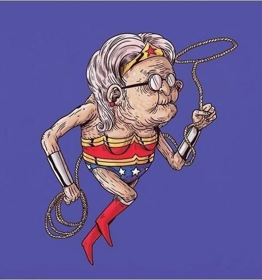Không có gì có thể ngăn cản bước chân của Wonder Woman.