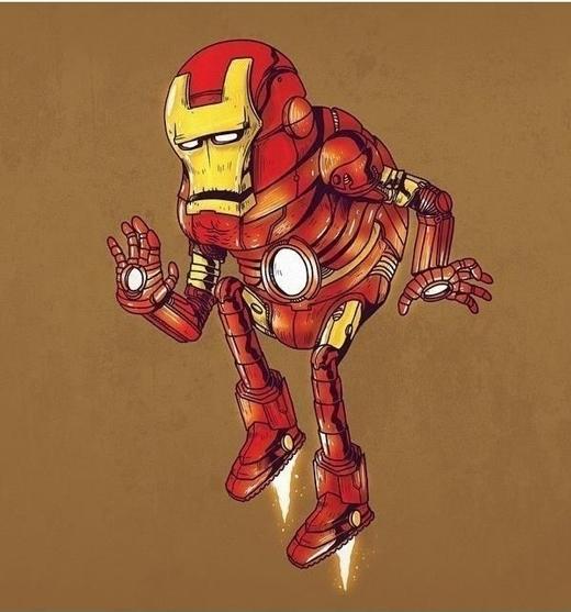 Người sắt (Iron Man) đã cứu thế giới với bộ giáp sắt này.
