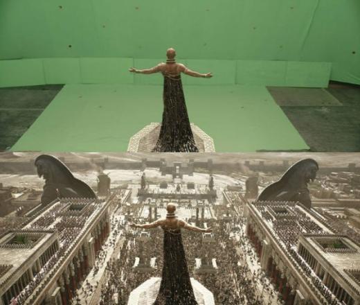 Khung cảnh trong phim300 - Rise of an Empire. Sự thực và cảnh trong phim có thể được gọi là một trời một vực không nhỉ?