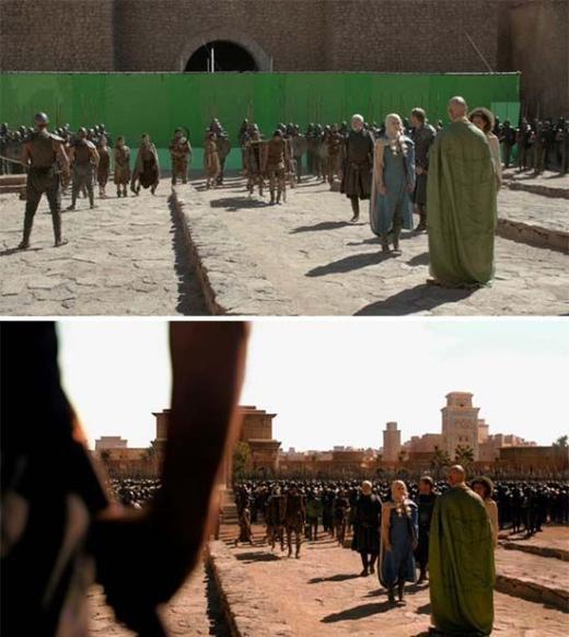 Đội quân hùng hậu trongGame of Thrones chực chất chỉ có vài người