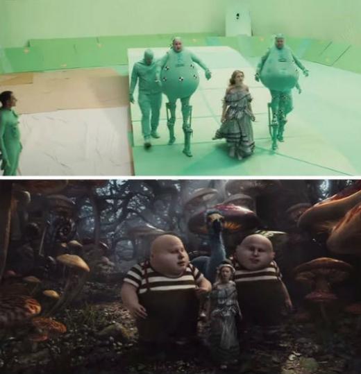 Sự thật đằng sau... xứ sở thần tiên trong phim Alice in Wonderland.