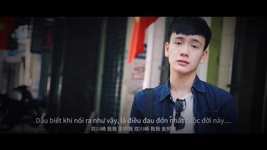 Hot boy Cao Bằng - Wang cũng thử làm diễn viên.