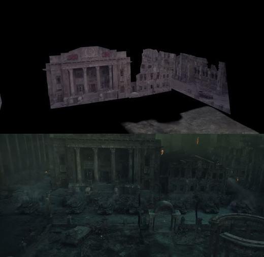 Khung cảnh huyền bí này được dựng bởi các hình ảnh 3D.
