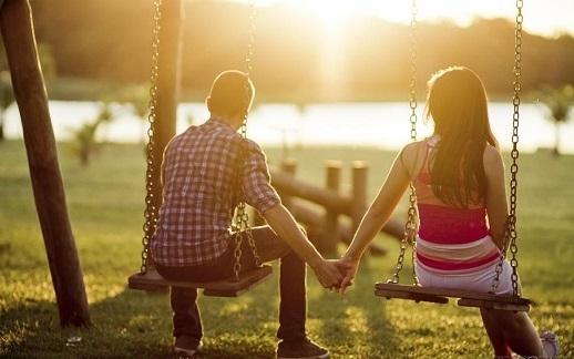 Tôi cảm thấy cuộc sống thật tươi đẹp khi may mắn được yêu em.