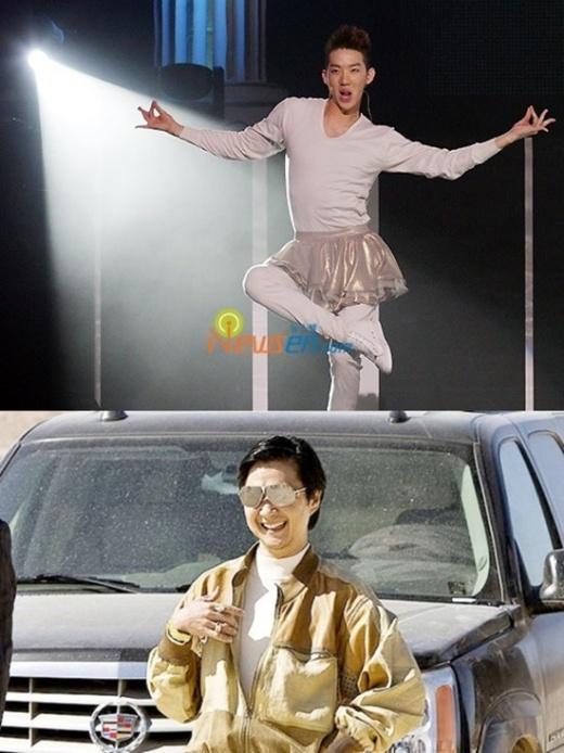 Tính cách hài hước, õng ẹo kiểu con gái của Jokwon (2AM) khiến mọi người không khỏi liên tưởng đến Mr. Chow của series phim Hangover đình đám.