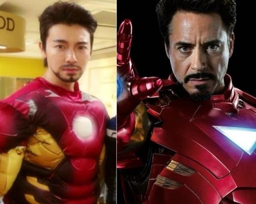 """Bỏ qua gương mặt """"búng ra sữa"""" thì Donghae (Super Junior) hoàn toàn có thể sắm vai người sắt Tony Starks tài giỏi, """"vạn người mê""""."""