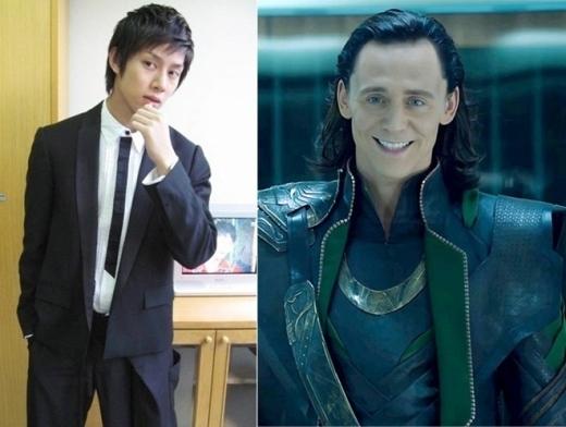 Trong khi đó, cậu bạn cùng nhóm, Heechul được các fan cho rằng trông giống Loki của Thor và Avengers nhờ dáng vẻ ngạo nghễ đặc trưng.
