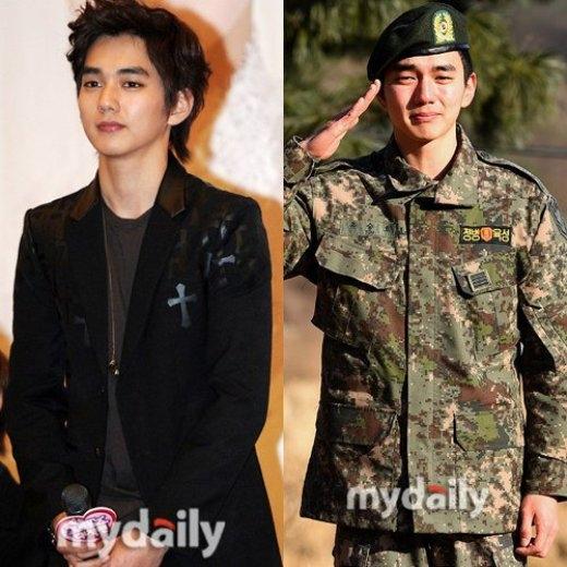 """Có thể nói nhập ngũ là quyết định vô cùng chính xác của Yoo Seung Ho. Không chỉ giúp cải thiện đáng kể hình ảnh trong mắt công chúng, """"em trai quốc dân"""" còn được dịp rèn luyện để sở hữu thân hình đáng mơ ước."""