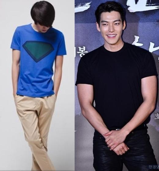 Sau khi quyết định trở thành diễn viên chuyên nghiệp, Kim Woo Bin đã phải luyện tập rất nhiều để sở hữu thân hình 6 múi săn chắc cùng bờ vai vữngchãi như hiện nay.
